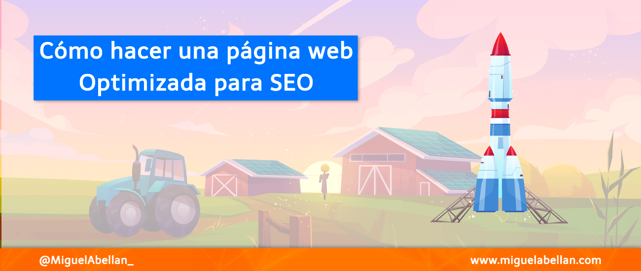 Como hacer paginas web optimizadas para seo